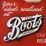 Boots advert, Christmas 1913